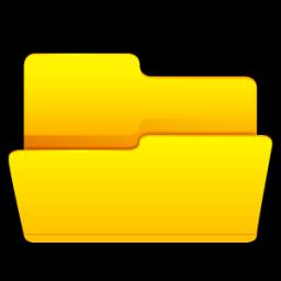 폴더 열기 아이콘 - ico,png,icns,무료 아이콘 다운로드