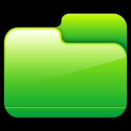 Folder Closed Green icon