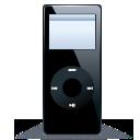 iPod nano black 1 icon