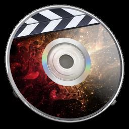 iDVD Nebula Multicolored icon