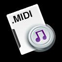 midi sequence icon