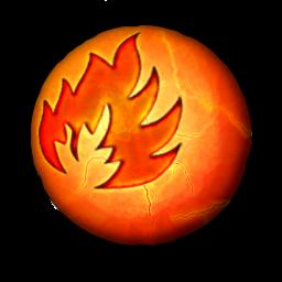 orbz fire icon