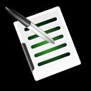 write document icon