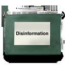 Disinformation icon