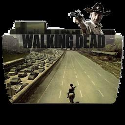 Folder TV WALKING dead icon