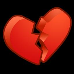 Misc Heart broken icon