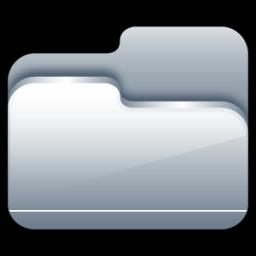 Folder Open Silver icon